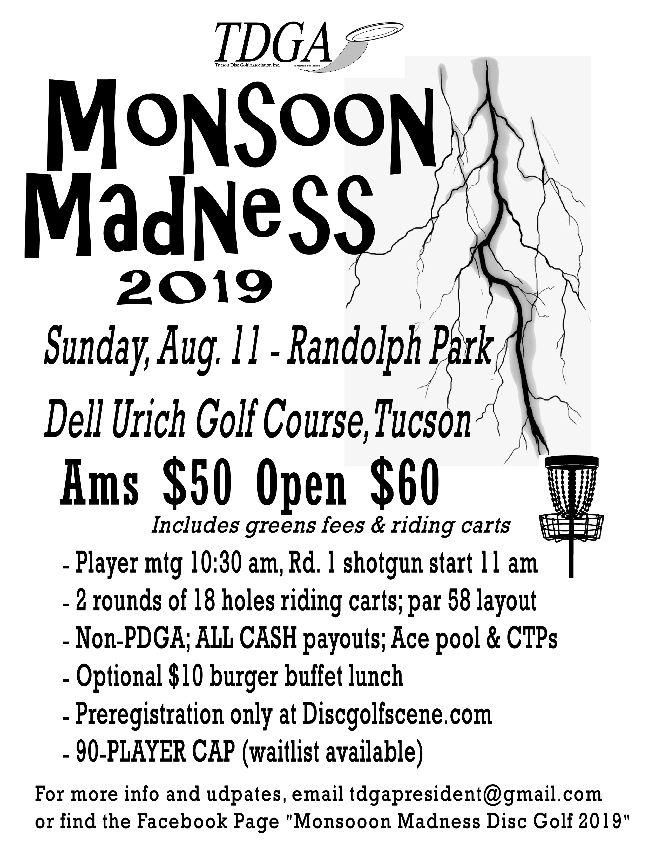Tucson Parks And Rec Summer 2020.Tucson Disc Golf The Home Of Tucson Chain Lightning